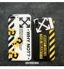 OFF-WHITE IPHONE XS/XS MAXカバー高品質オフホワイトiphone xs 保護ケースブランド メンズ オフホワイト IPHONE8/8PLUSケース
