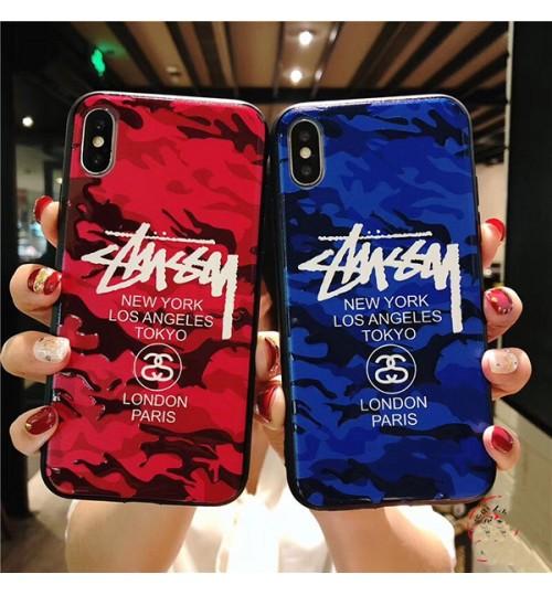 人気ブランドstussy Iphone X/Xs  ケース ステューシー アイフォン7/8/8 Plus携帯ケース おしゃれ stussy  iphone xs/xr 携帯ケース おしゃれ 軽量  レディース 浮き彫り シンプル風 iPhonexケース Stussy 芸能人愛用