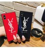 YSLIPhoneX/xr プラス 鏡面ケースブランドサンローランiPhone Xs Max/Xs/XR カバー ブラントiphone x/8 plus ケースアイフォンx カバー オシャレブラントIPhone7/7plus携帯カバー レディース