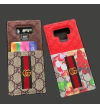 Gucci  IPhoneXS/XS Max/XR ケースブランド ギャラクシーNote9 ケース グッチIphone8/8 Plus保護ケース ビジネス風  グッチ IPhone Xs/Xs Maxカバーオシャレ GUCCI GALAXY NOTE9 SC-01L/SCV40ケース