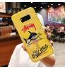ステューシー Galaxy Note9 ケース おしゃれ ブランド iPhonexs/xs max/ xr ケース stussy iPhonex/8/7/6s plus カバー 男女向け 高級 最安値 ブランド GALAXY NOTE9 SC-01L/SCV40ケース