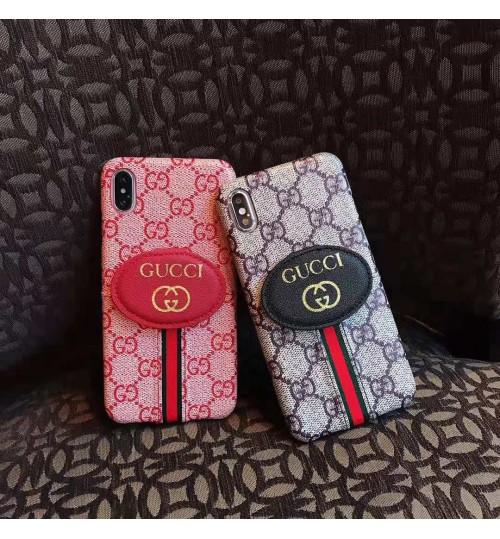 GUCCI iphoneXR/X/8/xs maxケース 若者向けブランドsupreme iphonexr ケースカバー人気 ブランド iphone 8/8 plus 保護ケース  アイフォンXs max携帯カバー 新品 男女兼用