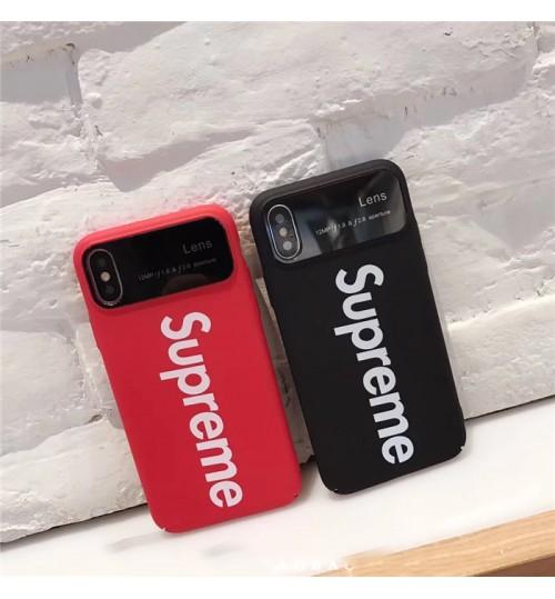 Supreme IPhone Xs Maxカバー おしゃれ シュプリームIPhone XRケース セレブ愛用新作 SupremeアイフォンX/8/8 PlusカバーIphone7/7Plusケース激安