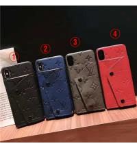 LV iPhone xs/xs maxケースルイ ヴィトンアイフォンxr背面収納ケースブランド IPHONE8/8PLUSケース コピー アイフォーン7/6S/6 プラス携帯ケース