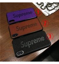 人気supreme iPhone Xsケース SUPREME アイフォンXS/XS MAX保護ケース潮流 シュプリーム iphone xr ケース ブランド iPhone8Plus ハードケース オシャレ Supreme ペア用ケース カッコイイ