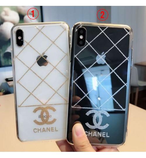 シャネル iphone xs ケース透明ブランド iphone x/xr/xs/ケース女性向けchanel iphone xs max 保護ケース恋人用iphone x/8/xrカバー 個性アイフォンXR携帯カバー
