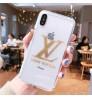 LV IPHONE XR 透明ケース個性 IPhone Xs Max/Xs/XR カバー 高級コピールイヴィトンアイフォンXS MAX カバーお洒落   iphone 8ース 人気 iphone x/8s/7ケース