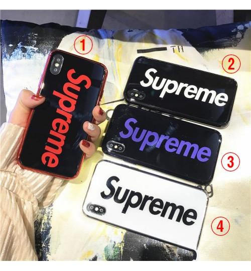supreme  iphone xr/xs maxケース 人気潮流ブランド iphone x/xs 保護カバー 個性デザイン シュプリームアイフォンx/8カバー 人気通販 芸能人愛用