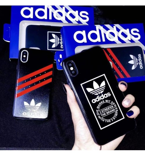adidasブランド IPHONE XSケース 男子女子に大人気アディダスiphone XS/XS MAX保護ケース ブランド アイフォン XR sカバー運動風 アイフォン8/8 PLUSカバー
