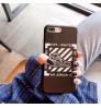 Off White iphone xsケース ブランド iPhoneXs Maxケースオフホワイト アイフォンXR 背面ケース 新作アイホンX/8 plusケース 男女兼用 アイフォン7/6 plusケース