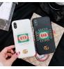グッチ iphone xr/xs maxケース 個性 gucci  iphone xrケース ブランドiphone xs maxケース 潮流 グッチアイフォン8/xスマホケースアイフォン8/8レザーケース