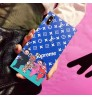 lv supreme iphonexs max/xr/x ケース 運動風 ブランド iPhone8/7ケース男女向け 運動風 ルイヴィトンアイフォン エス マックス カバー iPhone8/7/6s plus 保護ケース