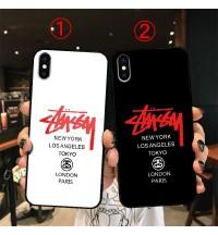 ステューシー iphone xsケース鏡面 stussy iphone xr/xs maxケース 人気なブラント ステューシー 個性 iphone x/xsカバーレディースブランドiphone x/xsペアスマホケース