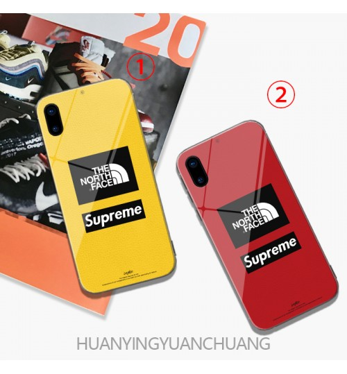supreme The North Face アイフォン xsケース ザ・ノース・フェイス iphone xr/x/8/xs maxケース若者向けブランド iphone XR/X/xs maxケース芸能人ブランド アイフォン 8/6/7 plusケース