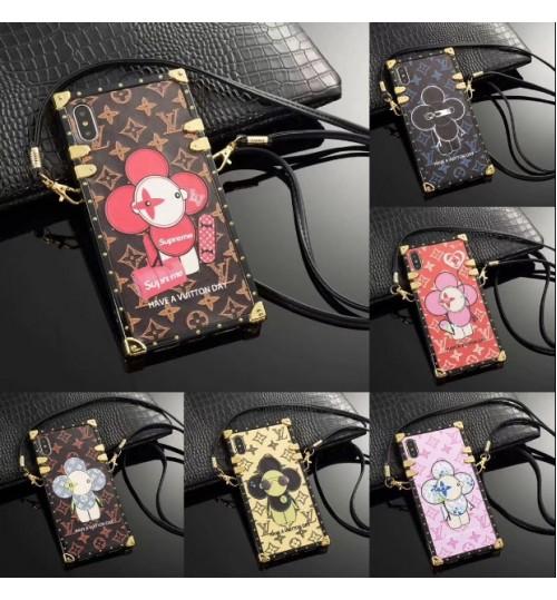 ヴィトンiphonexsケース おしゃれlvアイフォンxs マックスカバー  人気 ブランド iphone x/xs maxケース潮流アイフォン8/x/8 plusカバー男女向けストラップ付き