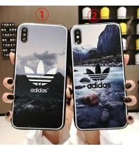 アディダス iPhoneXr/xsケースadidas アイフォンxs max ケース 人気 ブランド iphone 8/xケース 激安ブランドアイフォンx/8/7/6カバー パロディー