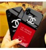 chanel IPhone Xs/Xr/Xr ケースブランド  IPhone Xs Maxカバー強化ガラス シャネル アイフォンX/8/7 Plusケース クリア背面ケース  レディース向け シャネル アイフォンXRケース