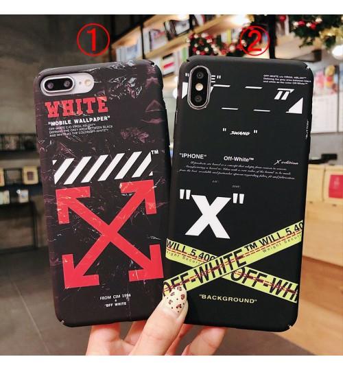 off withe iphone xr/xs maxケース個性 アップル激安 ブランドアイフォンxs/xs maxケース iphone x/8カバー男女兼用アイフォン XR/XSカバー