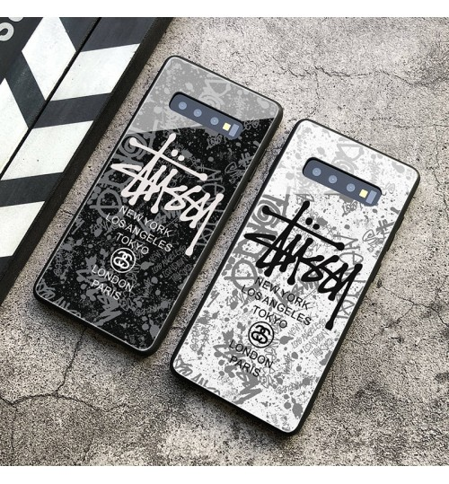 Stussy  iphone xr/xs maxケース ブランド galaxy s10e/s10+ケース人気なステューシ ギャラクシーs10 plusカバー個性  iphone xs maxケース iphone xrケース 人気ブランド