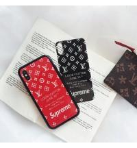 ルイヴィトン SUPREME アイフォンXS/XRケース Iphone X/8/8 Plusケースおしゃれ 新機種 IPHONE XS MAX ケース 激安