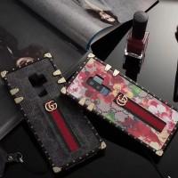 グッチ ブランド iphone x 8 plusカバー ギャラクシー s9+/s9保護カバー 芸能人愛用 アイフォン X/8+/8/7+ケース 欧米風 男女兼用 ストラップ付き オシャレ