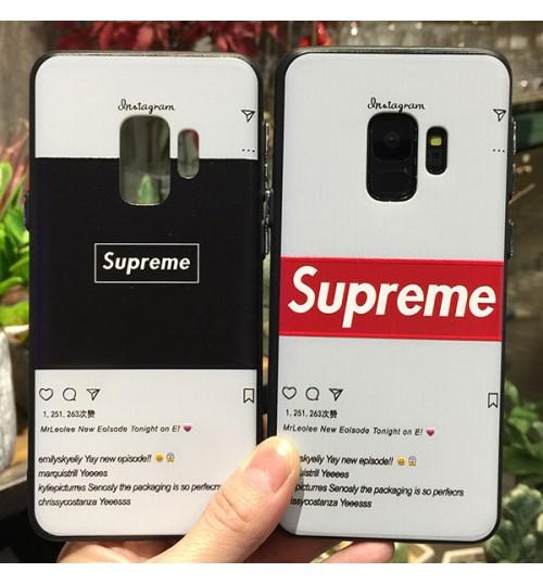 シュプリームHuawei P20ケース iPhoneX/8/8Plus/7カバー GalaxyS9/S9+/S8/S8+ カートンペッパピッグ携帯ケース HuaweiP20 Lite/P20 Pro 可愛い 激安