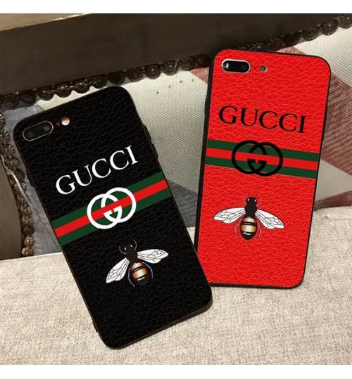 グッチiPhoneXケースブランド GUCCI アイフォンX Plusカバー シリコン製 iPhone8/8Plus保護ケース おしゃれ Gucci アイフォン7/7Plusケース ブランド iphone6sケース 男女向け