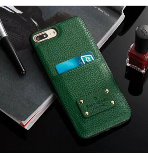 ケイトスペードiphone x/8/8 plus レザーケース  kate spade iphone 7/7plusスマホケース ブランドgalaxy s9/s9 plus携帯カバー メンズ レディース カード入れ ビジネス風