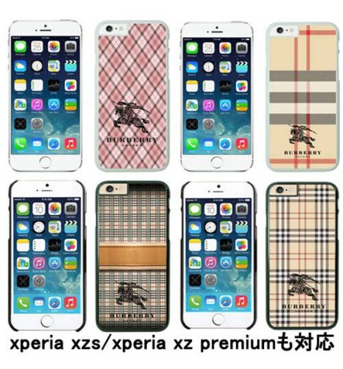 バーバリーブランド iPhoneXケース xperia xz2/xz2 compactケース BurberryギャラクシーS9/S9Plusケース エクスぺリアカバー iPhone7/7Plus galaxy s8/s8+保護ケース