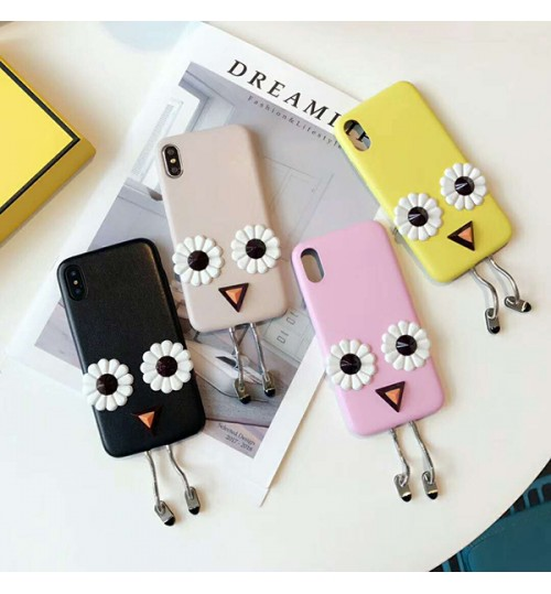 フェンディiPhoneXケース ブランド fendi アイフォン 8/8 plus携帯カバー 可愛い iPhone7/7plusケース オシャレ