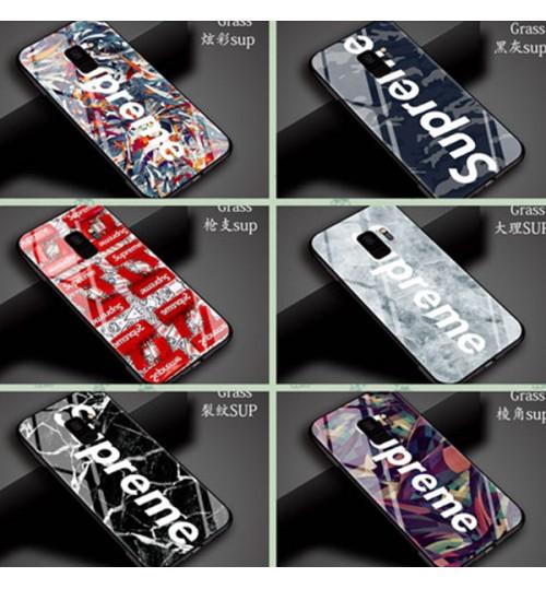 シュプリームGalaxyS9/S9+ケース ジャケット ギャラクシーS8/S8+携帯ケース suprene galaxy s9/s9 Plus スマホケース 新品発売