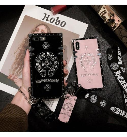 クロムハーツ Huawei P20 Pro ケース ブラント Chrome Hearts  ファウェイ P20 プロ HW- 01K iPhoneX/8/8Plusケース メタル  耐衝撃 アイフォン7/7 plus 携帯ケース ファッション 芸能人愛用