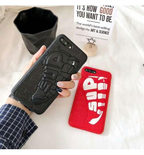 シュプリームiPhoneXケースブランド  iPhone8/8Plus保護カバー耐衝撃 supreme アイフォン7/7Plusカバーシリコン シュプリーム iPhone6/6プラスケース
