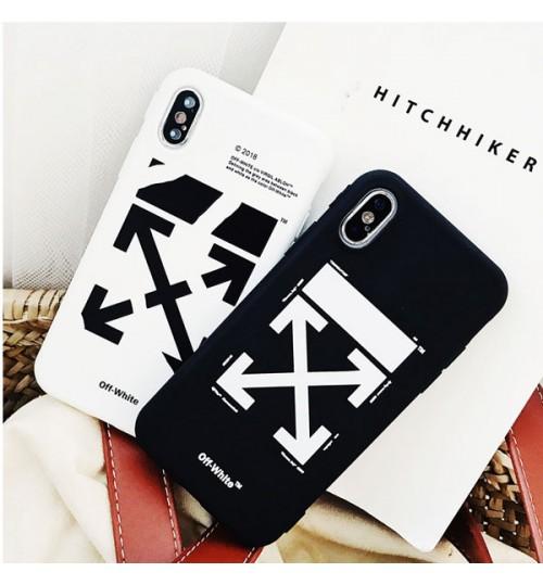 iPhoneXケース オフホワイトアイフォン新機種X Plus ケース シリコン製 ブランド オフホワイト(Off-White)iPhone8/8 Plusケース iPhone携帯カバー おしゃれ