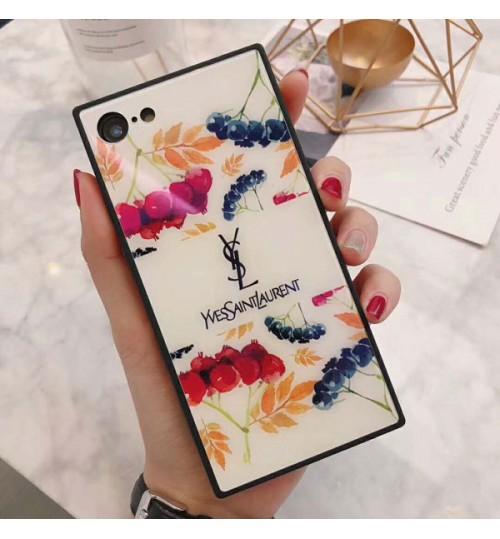 ブランドサンローランiPhoneX/X Plus ケース  オシャレYSL アイフォン8 プラス 鏡面 スマホケースイヴ サンローラン ブラントiPhone7/7plus携帯カバー レディース