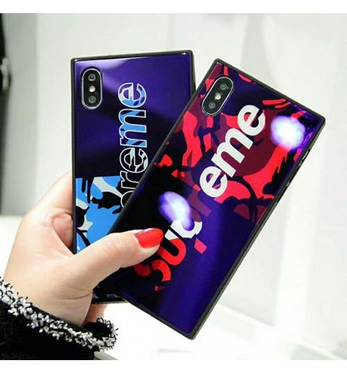 シュプリームブランド iPhoneX/X Plus ケース シリコン製  Supreme アイフォン7/8/9 Plus カバー おしゃれ IPhone7/7Plus 保護カバー IPhone6/6Plusケース 男女向け