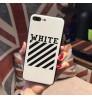 アイフォンXケース オフホワイトOFF-WHITE iPhoneX/X Plus ケース シリカゲル素材 メンズ おしゃれブランド オフホワイト(Off-White)iPhone8/8 Plusケースレディース用 iPhone7/7Plusケース 学生愛用