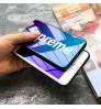 新品 SUPREME iPhoneXr/Xs Maxケース ブルーレイ ガラス シュプリーム iPhoneXs/X/8 Plusケースメンズレディース グラデーション supreme アイフォン7/7 Plusカバー