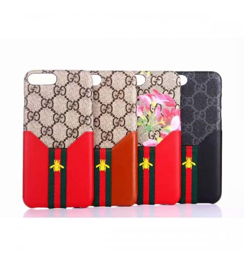 グッチGG iPhone Xs Max ケース GUCCIグッチ ブランドアイフォンXs/Xr/Xケース 蜜蜂 花柄 おしゃれ メンズレディース iPhone 8/7/6 Plusカバー 激安