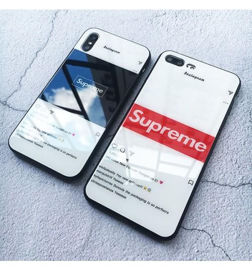 シュプリームiPhoneX/8/9 PlusケースブランドファションSUPREME GalaxyS9/S9+/S8/S8+カバーおしゃれ Supreme HuaweiP20ケース HW-01K カバーブランドOPPO R11sケース