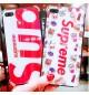 シュプリームiPhoneX/10ケース ブランド おしゃれ アイフォンXPlusカバーレディース向け 耐衝撃 supreme iphoneX/8/9Plus保護カバー 可愛い