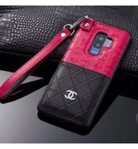 ブランド IPhoneXS/XS Max/XR ケース  シャネルSamsung GalaxyS9/S9+保護カバー CHANELギャラクシーNote9/8ケース メンズレディース ブランドiphone xs max/xr/xケース chanel ストラップ付き iphone8/8 plus携帯カバー おしゃれ