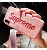 supreme IPhone Xs Maxカバー ブランドシュプリームiPhone X/Xs Plusケース おしゃれ セレブ愛用 supremeアイフォンX/8/9 Plusカバー合成レザー 可愛いiphone7/7Plusケース