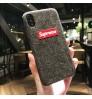 supreme iphone X/10 ケース 高品質フランネル シュプリーム iPhone9/9 plusハードケース 耐衝撃 メンズレディース アイフォン8/7/6 plusカバー ペア