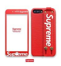 欧米風 iPhone Xs/Xr/X ケース supreme ブランド 便利 シュプリーム iPhone Xs Maxカバー 素敵 ガラスフィルム付き SUPREME アイフォンX/8/7 Plusケース メンズレディース 激安