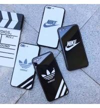 アディダス iPhone Xs/Xs Maxケース ブランド運動風 Adidas おしゃれ NIKE ブランド iPhone Xr/X/8 Plusカバー 耐衝撃 adidas 男女 アイフォン7/6s/6 Plusカバー 激安