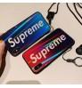 欧米風 Fashion ブランド SUPREME iPhoneXs/Xs Max/Xr ケース クラーデション 個性 シュプリーム iPhone X/8/7 Plus保護カバー 強化ガラス アイフォン6s/6 プラスケース 新品