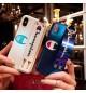 ブランドチャンピオン/Champion iPhoneXs/Xs Max/Xrケース 個性 リストバンド付き ブランド チャンピオン iPhoneX/8/7 Plus保護カバー ストラップ付き メンズレディース 激安