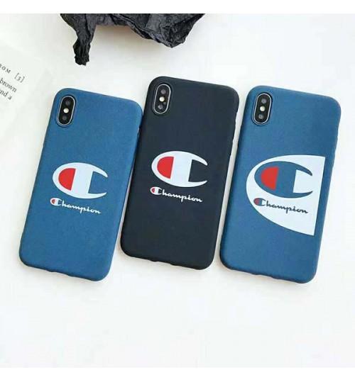 Champion アイフォンXs/Xs Max/Xrケース ブランド ハードケース チャンピオン iPhoneX/8/8 Plusカバー メンズレディース champion iphone 7/6s/6 プラスカバー 耐衝撃