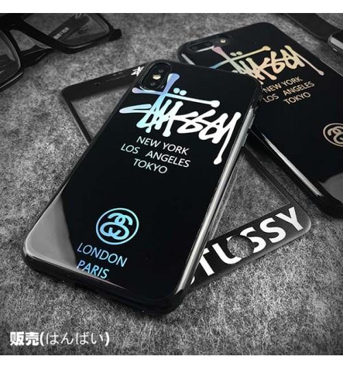 ブランド iPhone Xs Max ケース STUSSY シリコン製 ステューシー iPhone Xr/X/8 Plus保護カバー ジャケット アイフォン7/6s/6 Plusケース メンズレディース 高品質